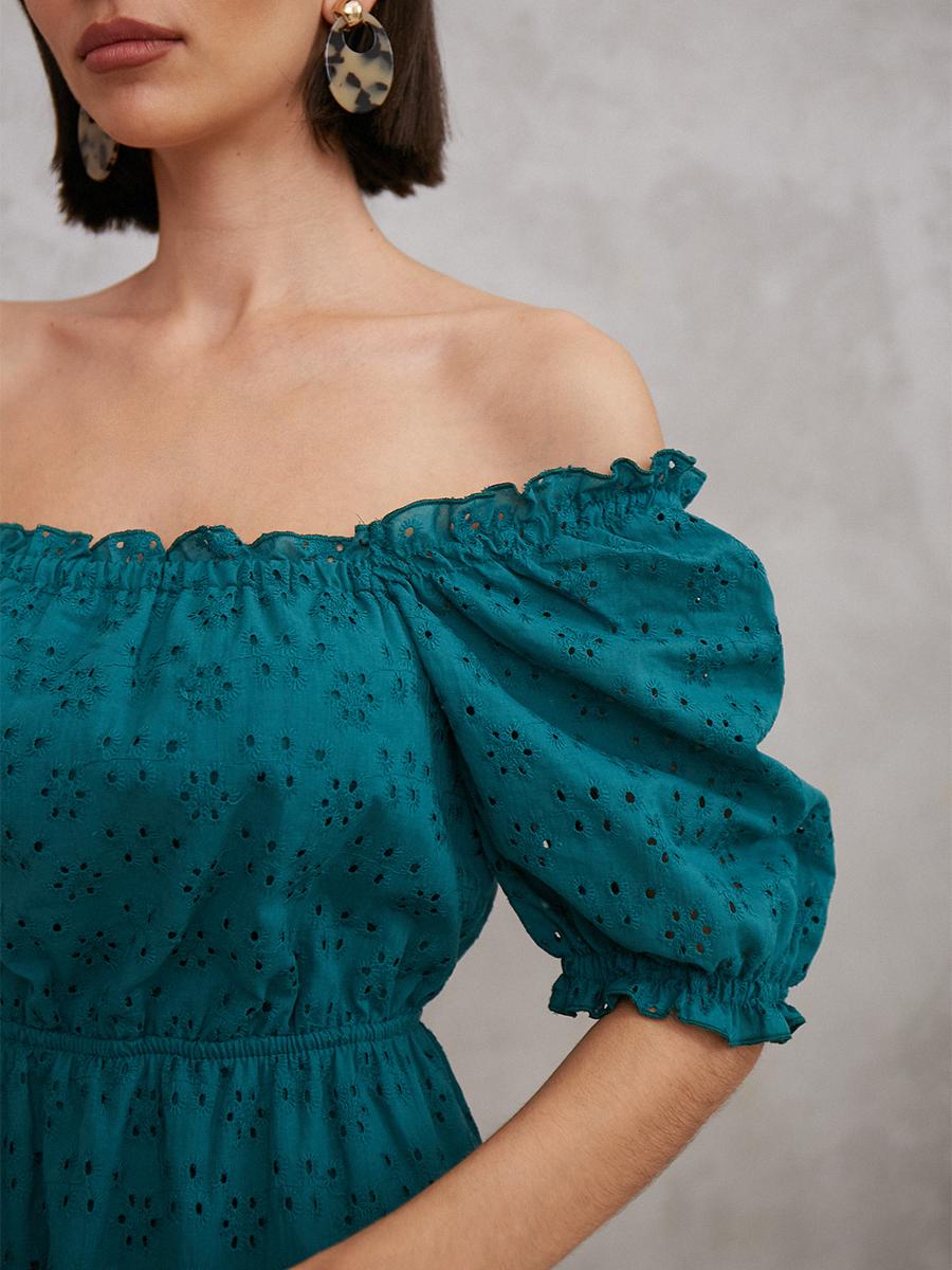 Легкое мини-платье
