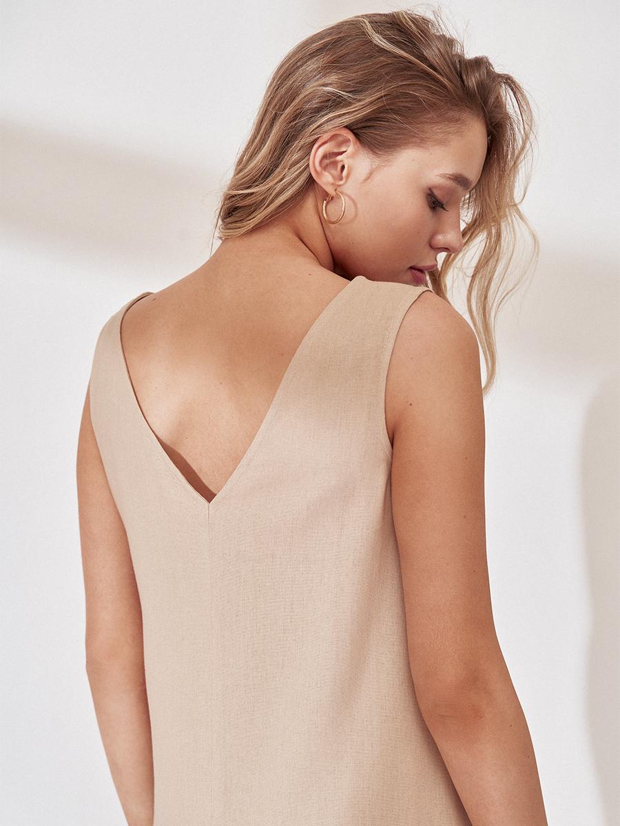 Легкое макси-платье